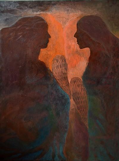 Még (70x100cm, olaj és vászon, 2014.)